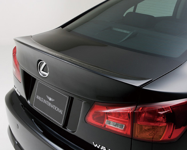 Wald International Carbon Fiber Trunk Wing Lexus IS250 / IS350 06-10 - IS.TL.CF.06