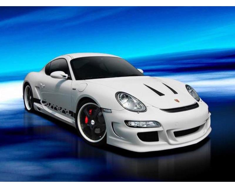 Warm Collection Front Bumper Spoiler Porsche 987 Cayman incl S 05-08 - WC-987C/CS-FBS