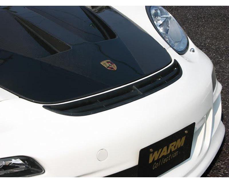 Warm Collection Carbon Aero Hood Porsche 987 Cayman incl S 05-08 - WC-987C/CS-AB-C