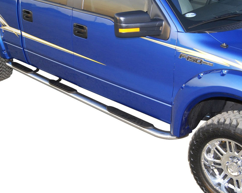 Wheel To Wheel Running Boards >> Westin Automotive Platinum Oval Wheel To Wheel Step Bars Stainless Steel Ford F 350 Super Duty Crew Cab 8 Ft Bed 99 14