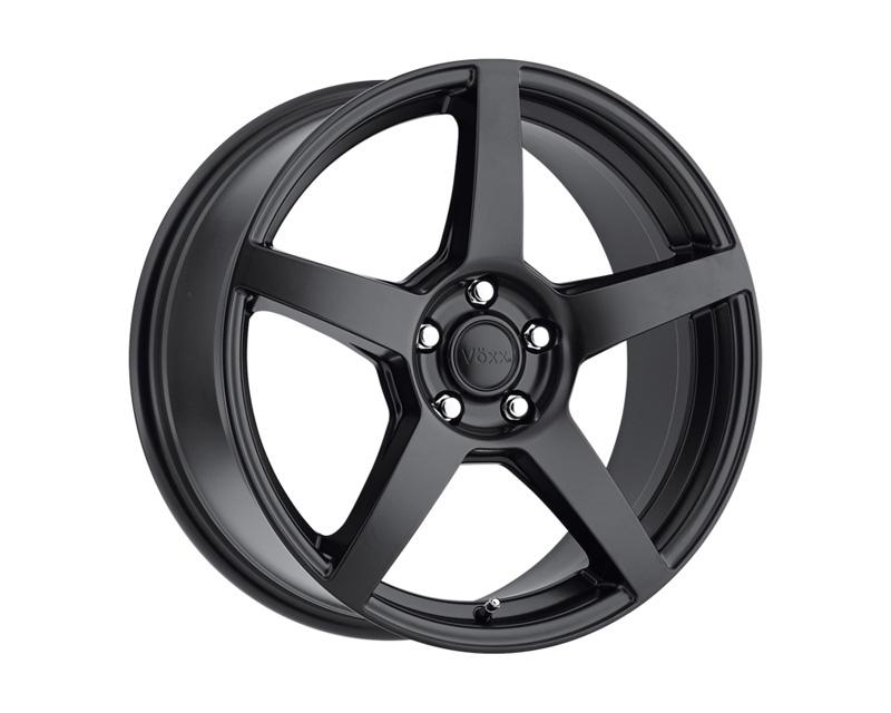 Voxx MGA Matte Black 15x7 5x100.00/114.30 40 BKMTXX - DT-77977