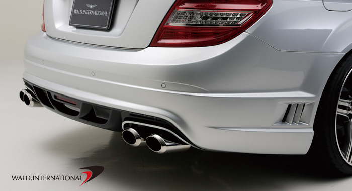 Wald International DTM Sport Exhaust System Mercedes-Benz C300 / C350 08-12 - W204.BB.ES.08