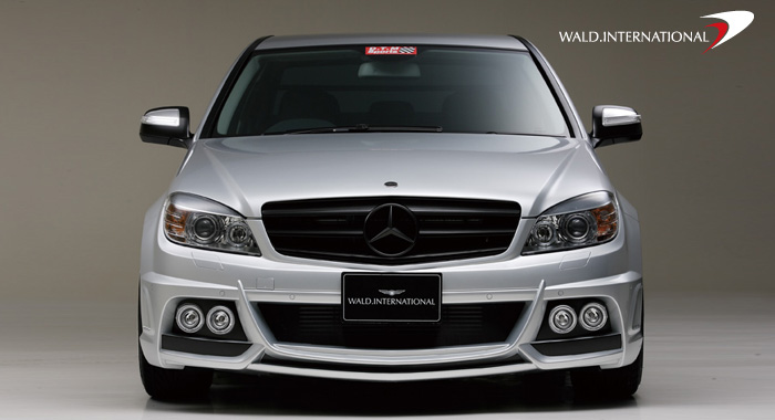 Wald International Black Bison Aerodynamic Body Kit Mercedes-Benz C300 / C350 C63 08-12 - W204.BB.SET