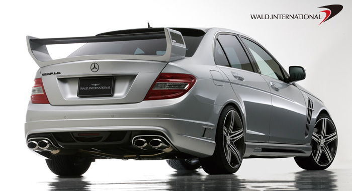 Wald International Black Bison Rear Bumper Mercedes-Benz C63 08-12 - W204.BB.RB.08