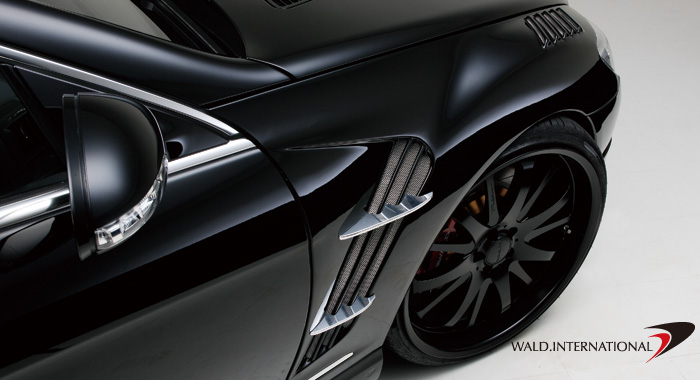 Wald International Black Bison Sport Fender Set Mercedes CL550 / CL600 07-10 - W216.F.07