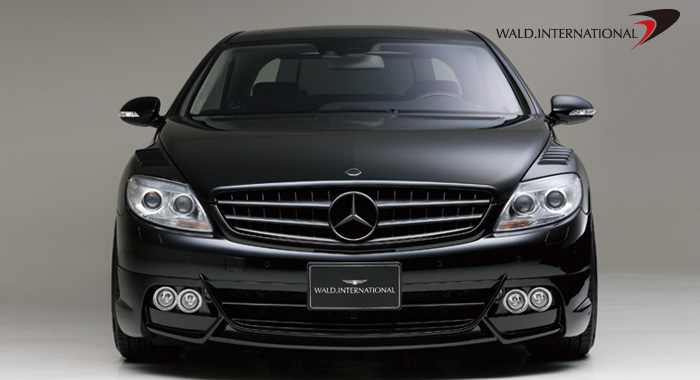 Wald International Black Bison Aerodynamic Body Kit Mercedes CL63 CL65 07-10 - W216.SET