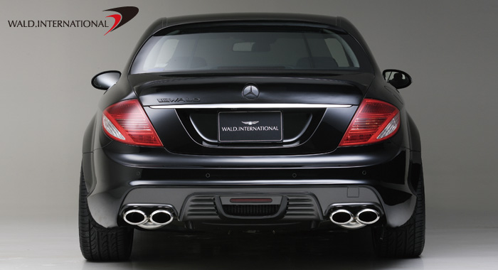 Wald International Black Bison Rear Bumper Mercedes CL63 / CL65 07-10 - W216.RB.07