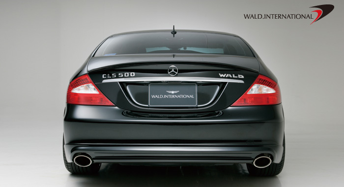 Wald International Sport Rear Bumper Apron CLS500 / CLS550 06-08 - W219.RL.06