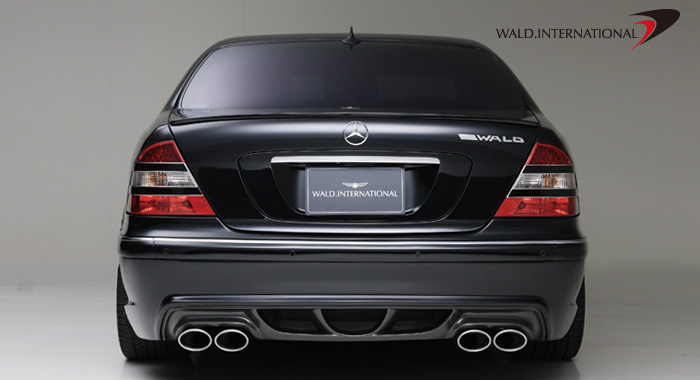 Wald International Version 3 Rear Bumper Mercedes S55 00-06 - W220V3.RB.00