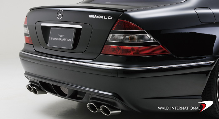 Wald International Version 3 Sport Exhaust System Mercedes S55 00-06 - W220V3.ES.00