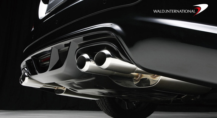 Wald International Sport Exhaust System Mercedes S63 / S65 07-09 - W221.ES.07