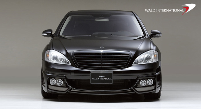 Wald International Black Bison Front Half Bumper Mercedes S550 / S600 07-09 - W221.BB.FB.07