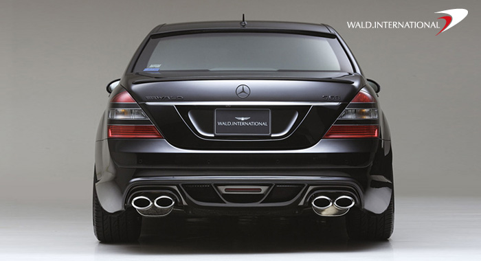 Wald International Black Bison Rear Bumper Mercedes S63 / S65 07-09 - 221.BB.RB..07