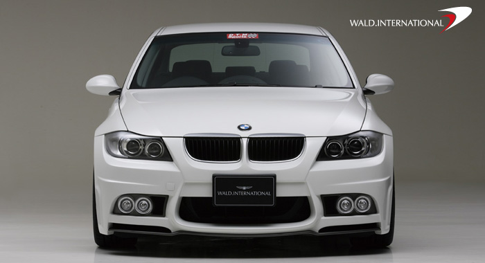 Wald International Front Bumper BMW 3-Series E90 06-10 - E90.FB.06