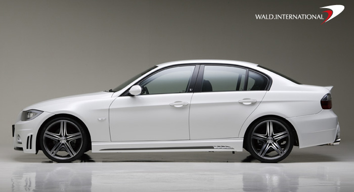 Wald International Side Skirt Set BMW 3-Series E90 06-10 - E90.SS.06