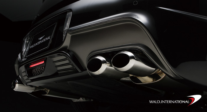 Wald International Black Bison Exhaust Tips Bentley Continental GT 04-07 - BGT.BB.ET
