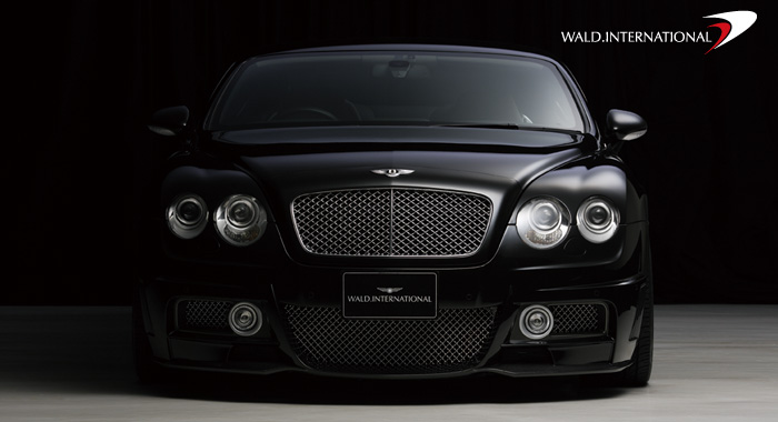 Wald International Black Bison Front Bumper Bentley Continental GT 04-07