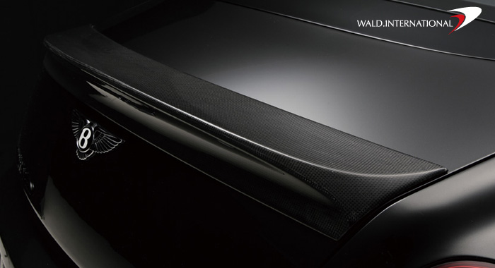 Wald International Black Bison Trunk Wing Bentley Continental GT 04-07 - BGT.GT.TL