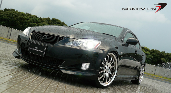 Wald International Aerodynamic Body Kit Lexus IS250 06-10
