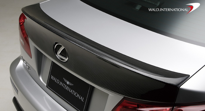 Wald International Carbon Fiber Trunk Wing Lexus IS-F 08-12 - IS.TL.CF.06
