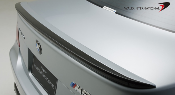 Wald International Trunk Wing BMW M5 E60 06-09 - E60.TL