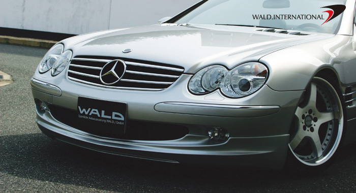 Wald International Executive Front Bumper Apron Mercedes SL500 / SL600 03-06 - R230.FL.03