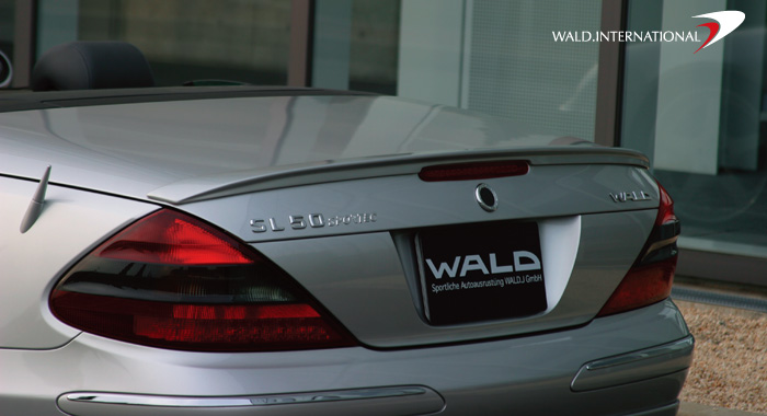Wald International Executive Trunk Wing Mercedes SL500 / SL600 03-06 - R230.TL.03