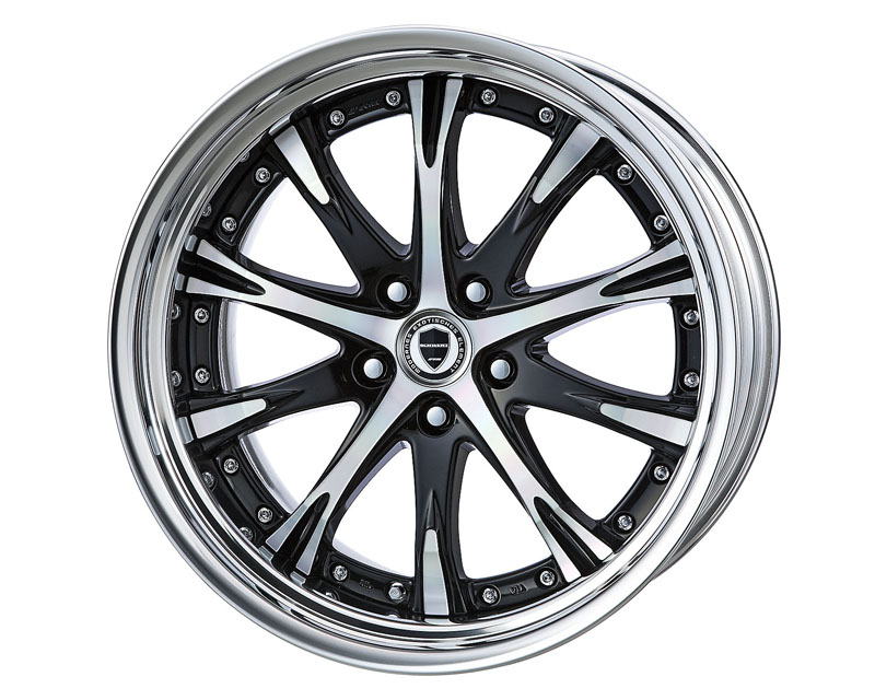 Work Schwert SC4 Step Rim Wheel 20x9.5 5x100 - WW-SC4-SR-20.95.100