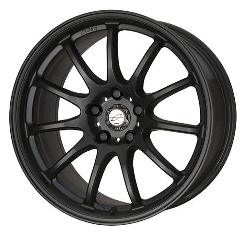 Work Emotion 11R Wheel 17x7.0 5x114.3 Matte Black - WRK11R1775X114.3MBL