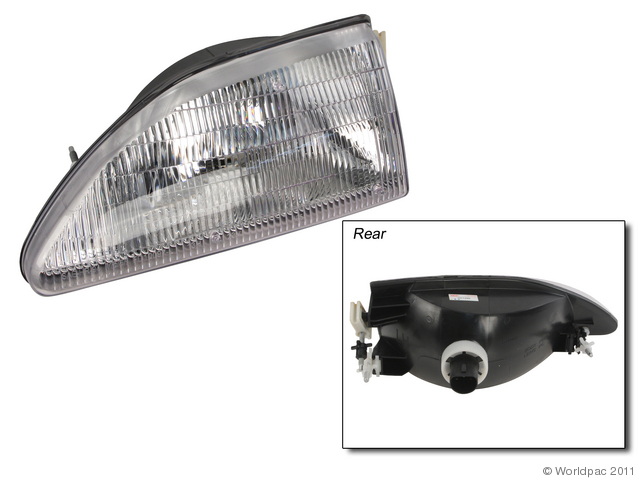 Vaip - Vision Lighting Headlight Assembly Ford Mustang Left - W0133-1843806