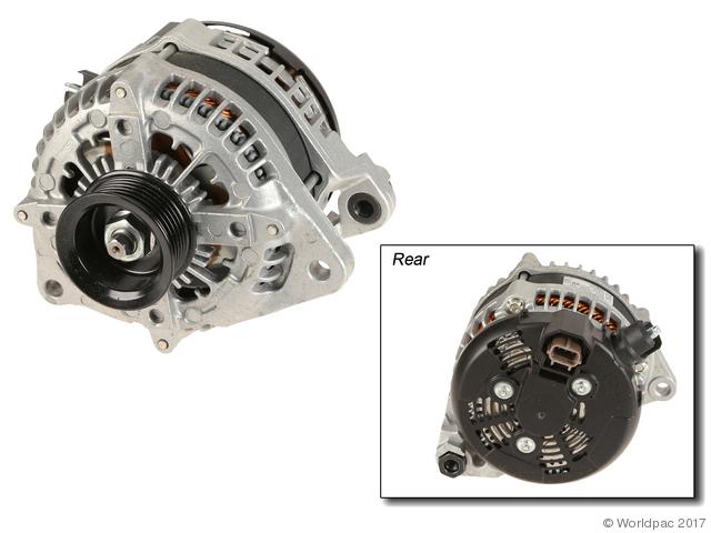 Motorcraft Alternator - W0133-2119856