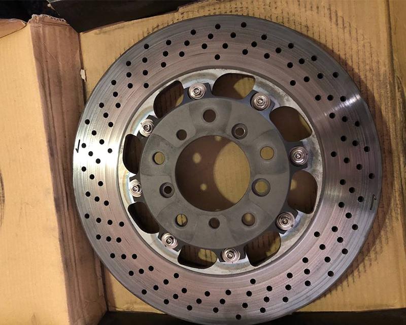 WP Pro Front 348x28mm 2pc Brake Rotor Upgrade Round USED BMW M3 E46 - WP-E46M3-450