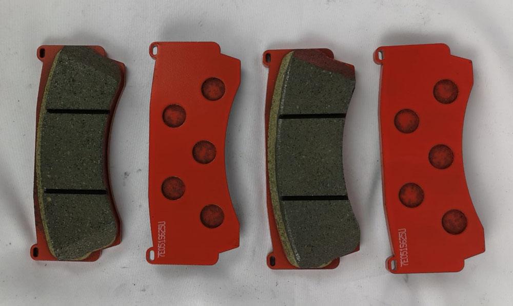 WP Pro Carbon Metallic Street Brake Pads for B6-L Brake Kit - WP06B6L-360-N53-Rear