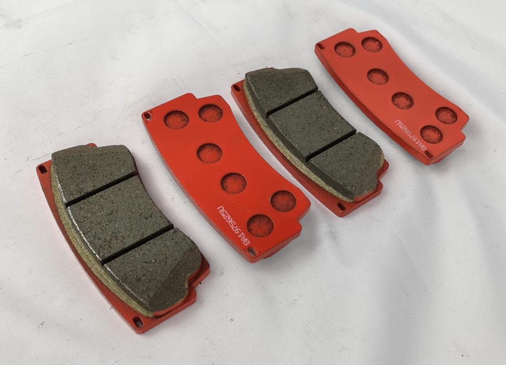 WP Pro Carbon Metallic Street Brake Pads for S4 Brake Kit - WP04S4-360-N53-Rear