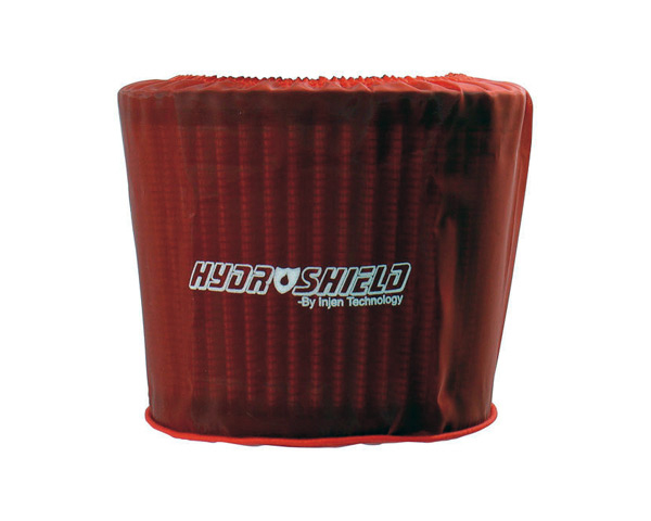 Image of Injen Hydro-Shield Red Pre-Filter 6in Base 5in Tall 5in Top