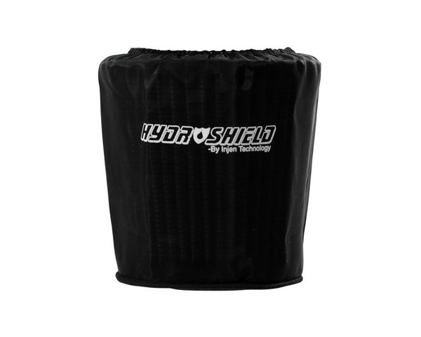 Image of Injen Black Hydro-Shield Pre-Filter 5.00in Base X 5.00in Tall X 4.00in Top