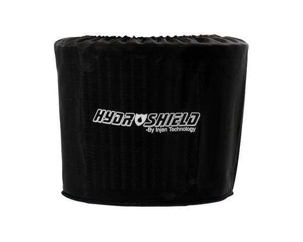 Image of Injen Black Hydro-Shield Pre-Filter 8.50in x 9.00in Oval base X 7.00in Tall X 4.00in x 8.00in Oval Top