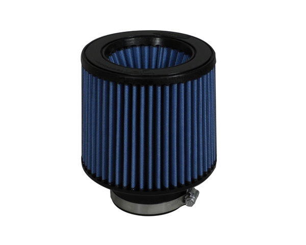 Injen Web Nano-fiber Dry Air Filter 3in Flange Diameter - 6in Base X 5in Tall X 5 3/8in Top