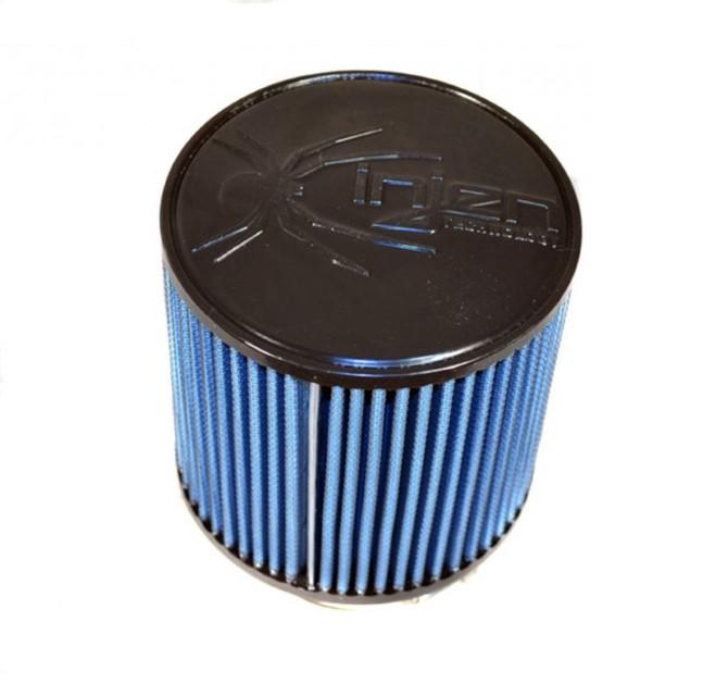 Injen Web Nano-fiber Dry Air Filter 2.75in Filter - 5.00in Base X 4.875in Tall X 5.00in Top