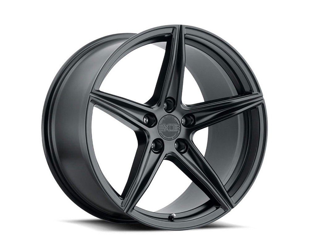 XO Luxury Wheels Auckland Matte Black 20x9 5x112 20mm - 2090AKD205112M66