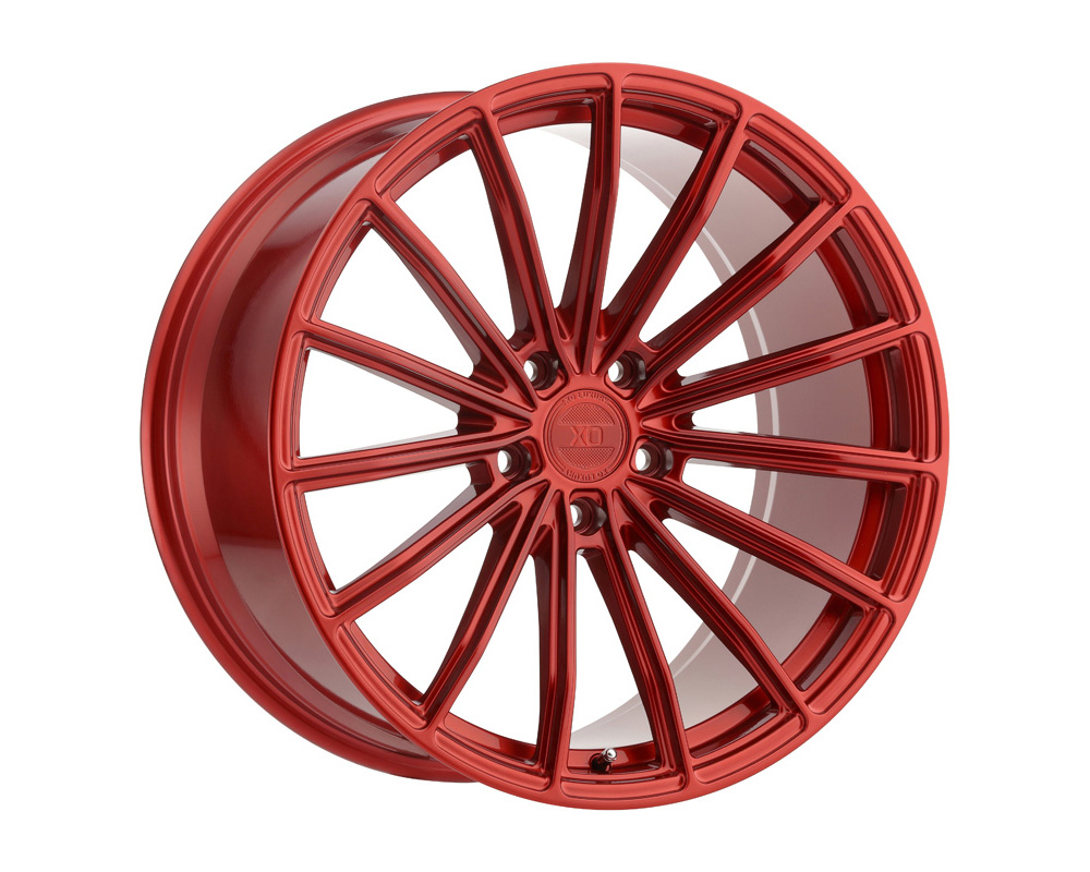 XO Luxury London Wheel 22x10.5 5x112 38mm Candy Red - 2205LDN385112R66