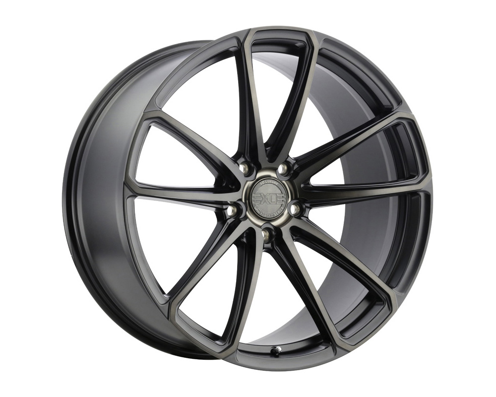 XO Luxury Wheels Madrid Matte Black 22x10.5 5x115 20mm - 2205MRD205115B71