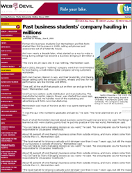 Click Here to Read Our Story from the ASU State Press