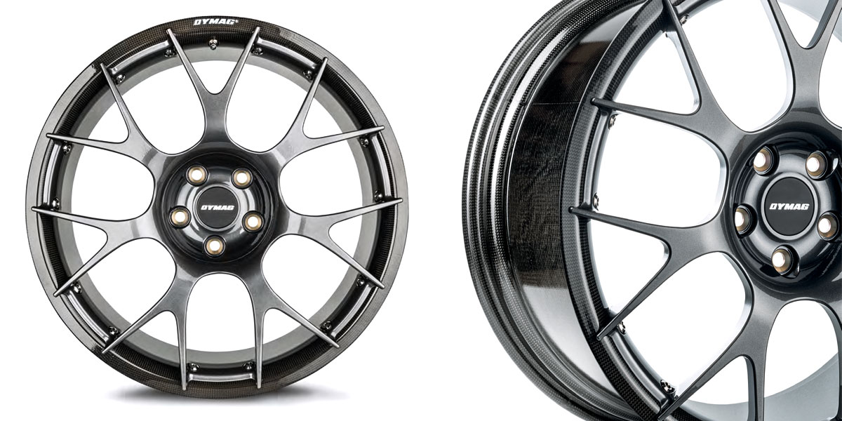 Dymag carbon fiber wheels