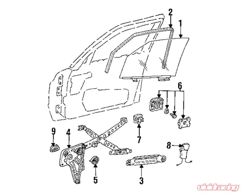 Mercedes Benz Window Motor Diagram