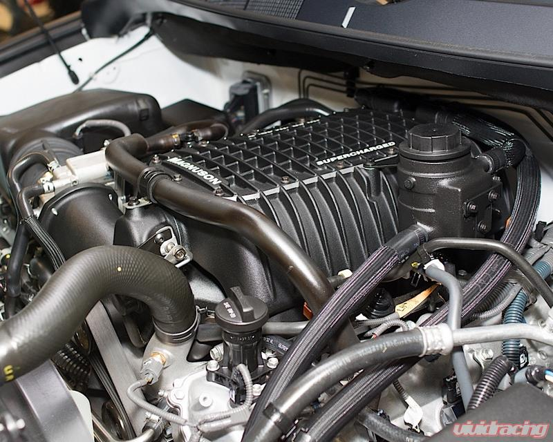Toyota Tundra Supercharger >> Magnuson Supercharger System Toyota Tundra Flex Fuel 5 7l V8 3ur Fe 07 18
