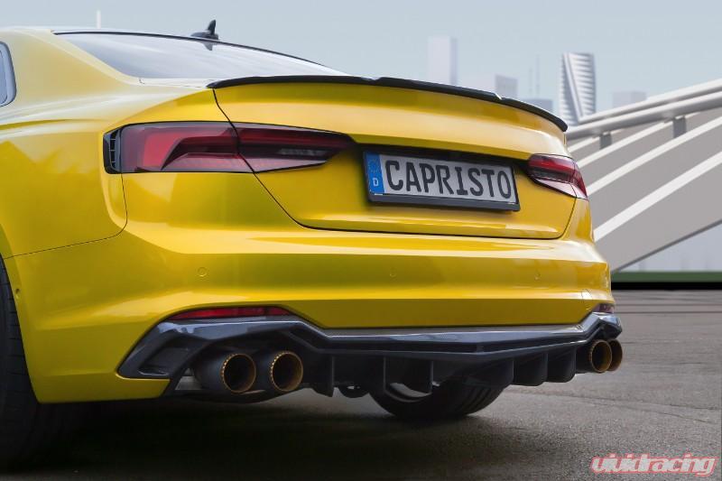 Capristo Exhaust Carbon Fiber Rear Decklid Spoiler Audi RS5 (F5) 16-20