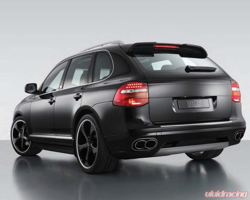 Techart Rear A Type 1 Porsche Cayenne 957 All Models With Tow Hitch 08 10