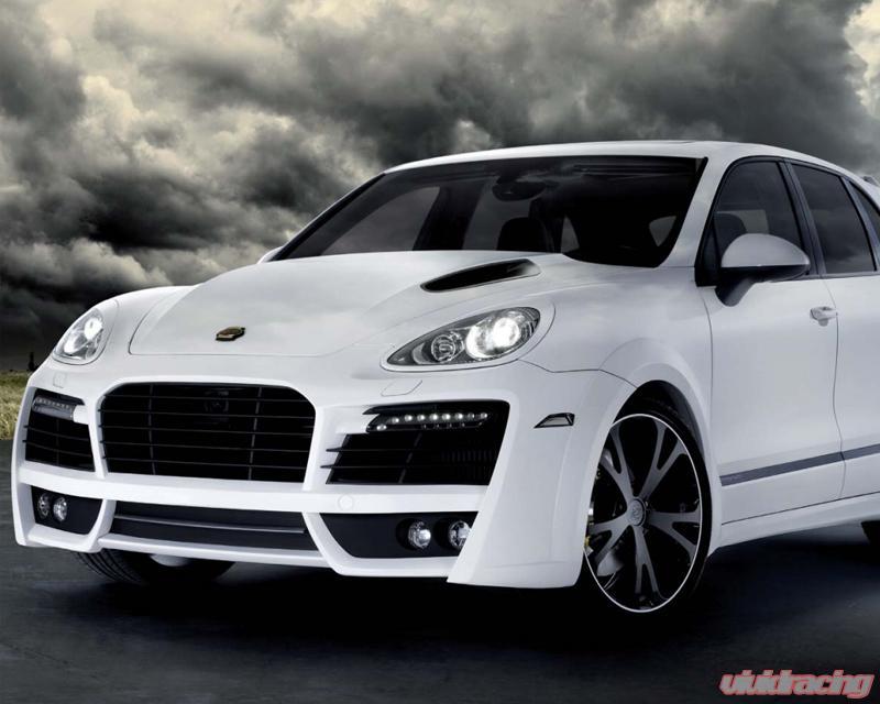 Techart Aero Engine Hood Matte Carbon Fiber Porsche Cayenne 958 11 14 058 121