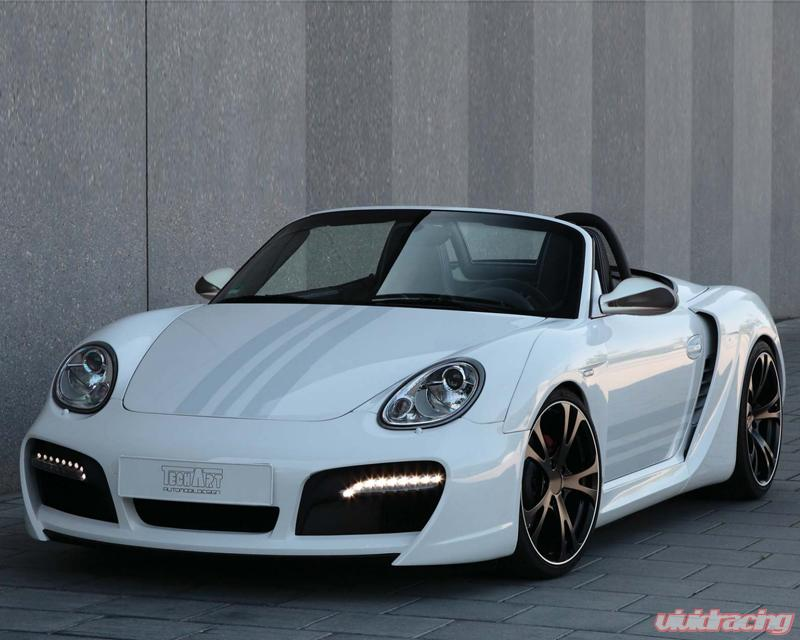 Techart Wide Body Kit With Chrome Running Lights Porsche Boxster Without Oe Drl 05 12